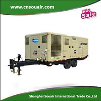 80-175 PSI Ingersoll Rand Doosan Portable Diesel Air Compressor HP1600WCU-T3 for sale