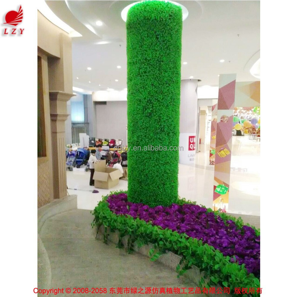 Outdoor artificial grass wall artificial wall plants fake for Decoration cost per m2