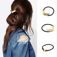 V shaped women alloy fashion hair band