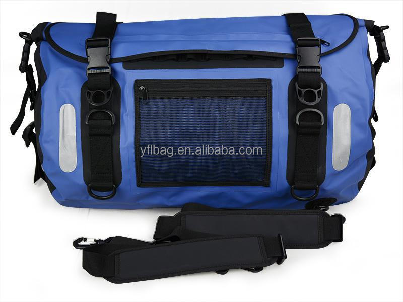 Blue travel duffel bag waterproof china wholesale