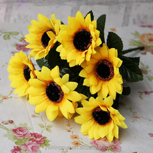 Cheap Artificial flower Machine Sunflower for Wedding Decors Home decor Factory Directly