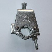 Scaffolding steel saddle metal fence post clamps