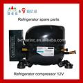 Compresor del refrigerador 24v dc 12v R134a