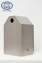 stamped parts stainless steel mailbox & stainless steel letter box, steel mailbox cabinet, indoor mailbox