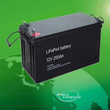 UL, IEC Approved 12Volt Lithium ion Battery / 12V Li-ion Battery / LiFePO4 Batteries 200 Amp