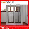 Cheap Price PVC Single Tempered Glass Sliding Windows With Fly Screen Hot Sale