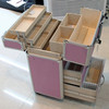 professional trolley beauty organizer