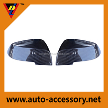 Carbon fiber mirror cover for BMW body kits
