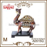 Resin product decorative animals camel souvenir A0515Q