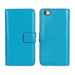 Wholesale Phone Cases Leather Wallet Case For iPhone 5 5s With Stand Function