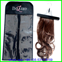 hair virgin brazilian hair extension china/hair extension of plastic bags promotional Bags