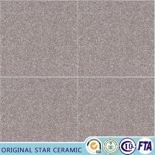 Homogeneous floor tiles