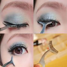 False Eyelash Applicator Tweezers / Eye Lash Tweezers / Curved Eyelash Applicator