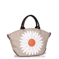 wholesale canvas tote bag women handbag china single shoulder strap bag
