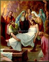 Prefessional Manufaturer printing Jesus 3D Posters for gift