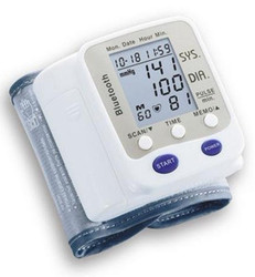 Bluetooth mobile phone / PDA Blood Pressure Monitor