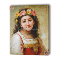 classic figure oil painting for realistic decorative painting frames