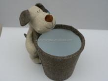High quality herringbone fabric for toys/cloth dolls