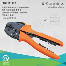 carbon steel electrical tool wire combine plier 0.5-10mm2 crimping capacity crimping tool