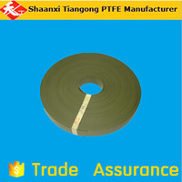 coffee color ptfe guide strip oil cylinder sealing