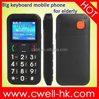 Dual SIM Torch FM Radio PS-V702 big keyboard mobile phone for elderly