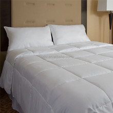 100% cotton cover polyester quilt -summer weight