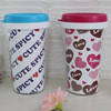 Double wall starbucks cups,Plastic children tumblers,Plastic advertising cup for promotion