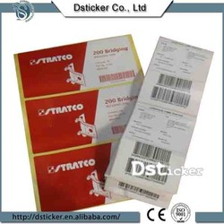 smooth surface clearing thermal transfer paper