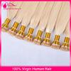100% Italian Keratin Glue Higher Quality Virgin Human Hair 10-30 Inches Cuticle Remy I Tip Keratin Pre Bonded Hair Extension
