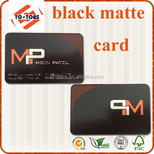 Free sample!!! Factory price black metal business cards, black matte metal business cards