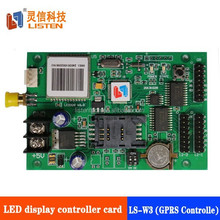 hotsale LSTEN W3 gprs wireless remote control led display controller for P10 led display module
