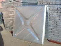 1.22m*1.22m water steel tank pane