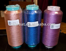 100% spun silk filament yarn dyed