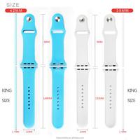 Rubber Watch Interchangeable Strap for Apple Watch Bulk Watch Straps