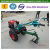 Agriculture machinery manufacturer supply factory price diesel mini tractors for sale, cheap price power tiller with implements