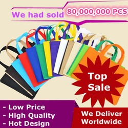 Custom Printed Bags Custom Shopping Bags 40X30X10 CM Recycle Material Fast Delivery