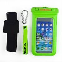 dustproof waterproof nylon drawstring bag mobile phone cases