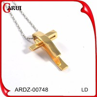 religious jewelry stainless steel cross pendant jewellery