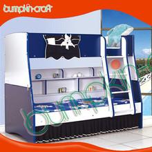 di alta qualità moderna mdf a buon mercato ragazzo mobili letti a castello con cabina armadio