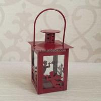 Christmas mini metal lantern promotion gifts