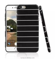 Soft Stripe Silicone Gel TPU Cover Case For iPhone 6 Plus