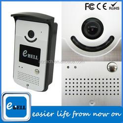 2015 newest IR-Cut real color video talking wifi waterproof ourdoor ip doorbell with unlock password on mobile phone unlock door