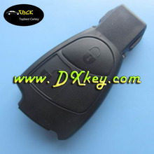 Best price 2 button remote control case for benz key cover mercedes benz key with a circle on the backside no logo