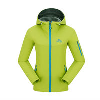 outdoor trekking plain hoodies windrunner softshell jacket