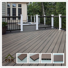 150mm*25mmC wpc ceiling china plastic wood decking, recyclable,waterproof,wood plastic composite decking