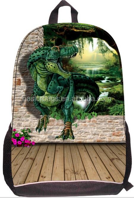 Cool de dinosaure de bande dessinée sacs d'école pour les adolescents