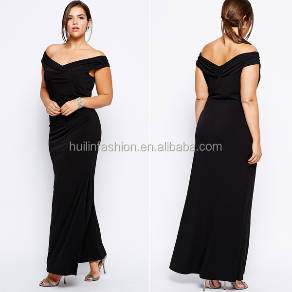 2014 Hot Sale Fat Ladies Elegant Evening Dress For Big Size Women ...