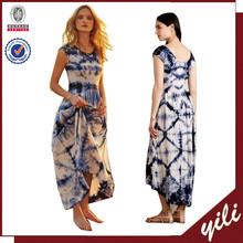 2015 dama de moda vestido último vestido diseños para para mujer vestido hawaiano para mujeres
