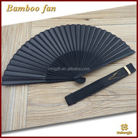 China gold manufacturer professional chinese bamboo fan large