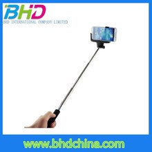 New fashion ZPGB-1 Z07-5 Wireless Extendable selfie stick with bluetooth shutter button
